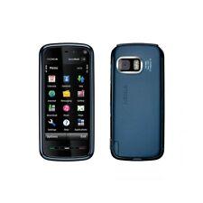 Phone Mobile Phone Nokia 5800 Xpress Music Blue 0.1oz Wifi Camera Carl Zeiss