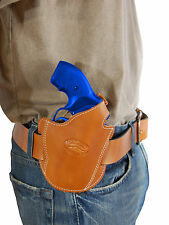 NEW BARSONY LEATHER PANCAKE HOLSTER FOR S&W 340PD M&P340 317 36 60 REVOLVER