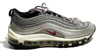Nike Air Max 97 Silver Bullet Youth OG QS 918890-001 GS BG Size 6Y