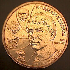 2008 $1 'Norman Lindsay' Coin. Removed from a Baby Coin Set:Unc