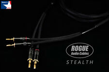 6ft. Single ROGUE Speaker Cable STEALTH 2x2 12ga x 2