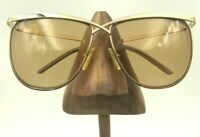 Vintage Laura Biagiotti T103/S 79T Gold Oversized Oval Sunglasses FRAMES ONLY