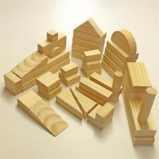 Beautiful WOODEN BLOCKS Educational child play learning toys - HomeSet #2