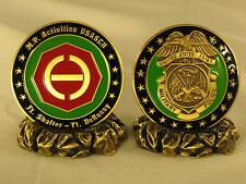 """Military Police Challenge Coin  PLUS  Lazy """"H"""" Lapel/Hat Pin"""