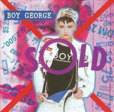 """BOY GEORGE """"Sold"""" like new CD CULTURE CLUB singer Boy George (CD 1995, Emi Gold)"""
