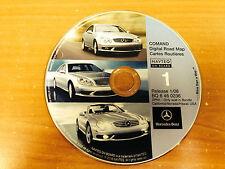 2002 2003 2004 2005 MERCEDES G CLASS G500 G55 NAVIGATION CD 1 CA NV HI  2008 ©