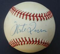 MONTE IRVIN signed  Baseball GIAMATTI  autographed  COA