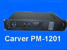 CARVER PM-1201  OWNERS  MANUAL ALL 24 PAGES ON A CD-ROM