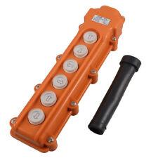 COB-63 6 Ways Rainproof Hoist Push Button Switch for Hoist Crane Control 250V 5A