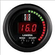 Stack Pro Control Wideband Air/Fuel Ratio Meter Lambda Gauge & Sensor Black 3403