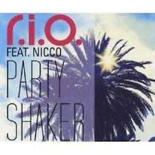 """R.I.O. FEAT. NICCO """"PARTY SHAKER"""" CD SINGLE NEU"""