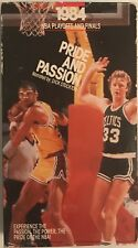 1984 NBA PLAYOFFS AND FINALS PRIDE AND PASSION celtics lakers VHS VIDEOTAPE