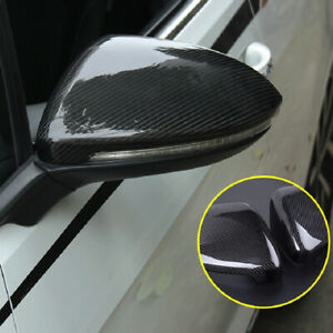 For Kia Cerato Forte K3 2019 2020 Black Side Door Rearview Mirror Cover Trim