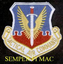 TACTICAL AIR COMMAND US AIR FORCE TAC PATCH F100 F101 RF101 F104 F105 F106 F111
