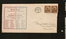 FRANKLIN D. ROOSEVELT INAUGURATION DAY CACHET 3/4/1933 WASHINGTON DC