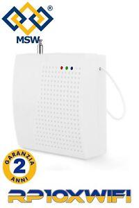 RIPETITORE Segnale Radio FREQUENZA 433 MHz per SENSORI Allarme