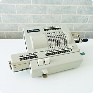 Original Odhner 239 Vintage Mechanical Pin Wheel Calculator Adding Machine