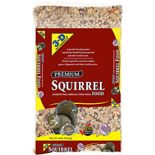 New listing 3-D Pet Products Premium Squirrel Food packed in a 20 lb. bag