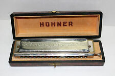 "Hohner The 64 Chromonica 4 octaves PROFESSIONAL MODEL ""C"" harmonica w/case NICE"