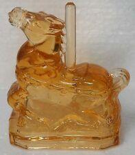 Boyd Glass Taffy the Carousel Horse Coral
