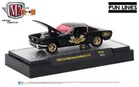 L06 32600 FL01 M2 MACHINES DETROIT MUSCLE  1966 FORD MUSTANG FASTBACK 2+2  1/64