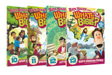 Buck Denver Asks What's In The Bible Series DVD Set 10-13 Volumes Kids Children