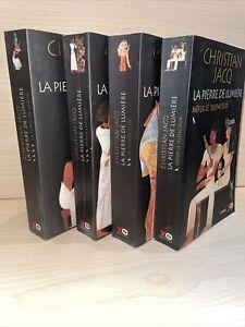 Lot Christian Jacq - La Pierre De Lumière - Néfer - La Femme - La Plage - Paneb