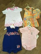 NWT Infant Baby Girls Size 6/9 Months Spring / Summer Outfits Lot of 4 Carter's