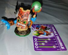2011 Activision Skylanders  DOUBLE TROUBLE  Figure Loose with Card