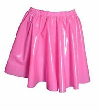 PVC Circle Skirt  Large Shiny Hot Pink  Plastic Vinyl Roleplay Sissy Adult Baby