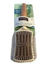ECOTOOLS Earth Friendly Smoothing Detangler Hair Brush Ultra Comfort Lightweight