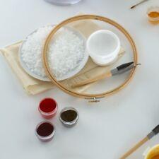 Batik Craft Starter Set Tjanting tool wax dyes stretcher hoop traditional fabric