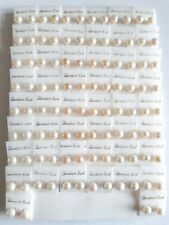 50 PAIRS FAUX PEARL EARRING STUDS JOBLOT WHOLESALE CARDED CARBOOT MARKET (VA11)