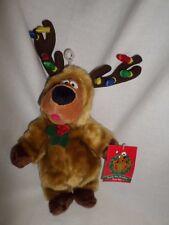 Scooby Doo Reindeer Warner Bros Bean Bag Plush Christmas With tag Costume