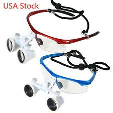 Dental Surgical Binocular Optical Magnifier 35x 420mm Loupes For Led Head Light