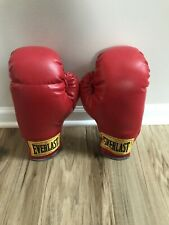 Everlast Red Boxing Gloves Size 12