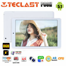 "Teclast P80H 8"" Android 5.1 Tablet PC Quad-Core HD GPS Dual WIFI OTG 2*Kam EU"
