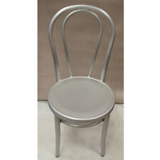 Milan Brushed Aluminum Chair