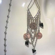 Cluster Natural Sterling Silver Fine Necklaces & Pendants