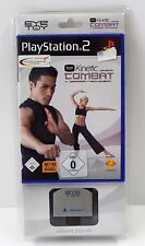 Ps2 PLAYSTATION 2-Eye TOY KINETIC COMBAT + Camera-Set-Nuovo New OVP