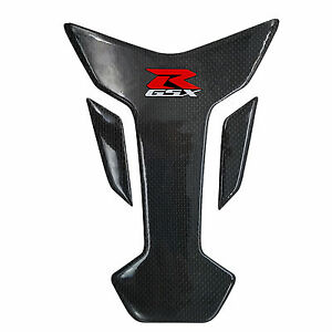 8 inches Real Carbon Fiber Fuel Gas Tank Protector Scratch Pad For Gixxer GSXR