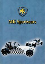 MK Sportscars Indy kit car (Lotus 7 replica, made in GB) _2007 Prospekt Brochure