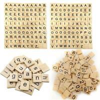 Scrabble Tile Spares Crafts Round Back Plastic Letter Blank