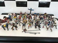 Large Mixed Bundle (47 figures) Papo KNIGHT/ PIRATES , ELC, Plastoy, Simba +