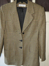 EVAN PICONE Horse Riding 100% WORSTED WOOL Jacket Coat Blazer Womens Size 4