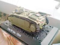 1/72 scale WWII France CHAR b1 bis 1944 heavy tank Diecast Model NIB 1:72