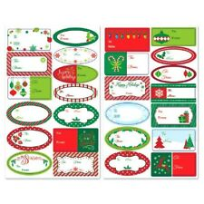 Holiday Christmas Gift Adhesive Labels 150 Ct Value Pack