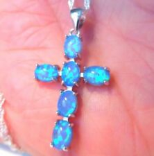 Opal Religious Gemstone Costume Necklaces & Pendants