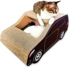 CAT Scratching Claw Sharpening Play Indoor Cardboard House Bed Pet Car Japan