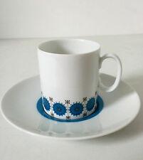 60s Thomas Medaillon smaragd Tasse H.Th. Baumann porcelain cup saucer annees 60